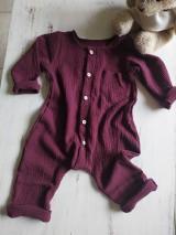 Detské oblečenie - Chlapčenský overal - 12067754_