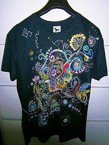 Tričká - lel art/ energy 8. obojstranné tričko - 12074338_