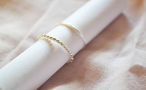 Strieborný filigránov prsteň - Čipečky