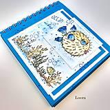 Papiernictvo - Album na fotky 15x15 cm Modrý morský svet - 12073222_