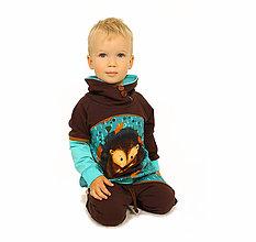 Detské oblečenie - Štýlová súprava - ježko - 12072665_
