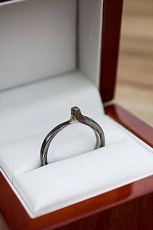 "Prstene - Prsteň ""Požiadaj ju o ruku"" Light - 12073232_"