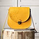 Kožená retro kabelka *Honey*