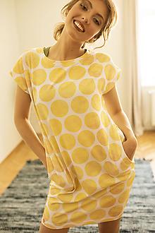 Šaty - Šaty Carrie - žlté - 12070534_