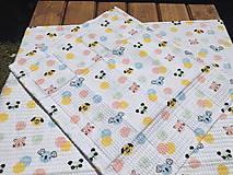 Textil - vaflová deka 1 - 12071638_