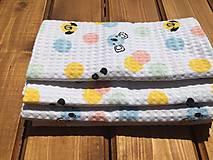 Textil - vaflová deka 1 - 12071674_