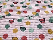 Textil - vaflová deka 2 - 12071703_