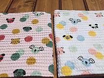 Textil - vaflová deka 2 - 12071714_