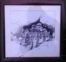 Obrazy - Lučenec, synagóga - 12072368_