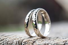 Prstene - Obrúčky srdcom tepané /slim verzia/ - 12077757_