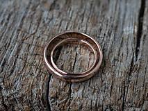 Prstene - Obrúčky srdcom tepané /slim verzia/ - 12077766_