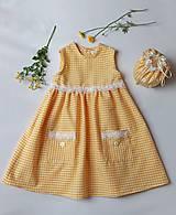 Detské oblečenie - Letné kockované - 12076784_