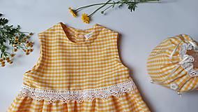 Detské oblečenie - Letné kockované - 12076785_