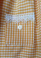 Detské oblečenie - Letné kockované - 12076787_
