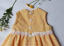 Detské oblečenie - Letné kockované - 12076789_