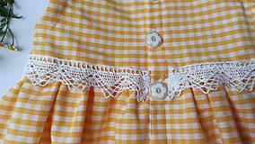 Detské oblečenie - Letné kockované - 12076793_