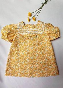 Detské oblečenie - Letné kvetinkové - 12076739_