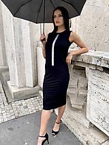 Šaty - FNDLK bambus šaty 472 RK midi - 12076654_