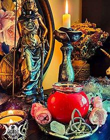 Svietidlá a sviečky - Bohyňa FREYA - 12076359_