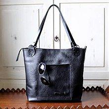 Veľké tašky - Kožená kabelka Casual bag No.4 - 12076858_