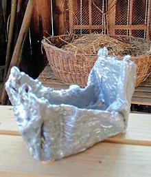 Nádoby - Betónový handmade obal - 12075859_