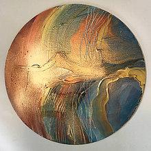 Obrazy - Golden planet - 12077644_