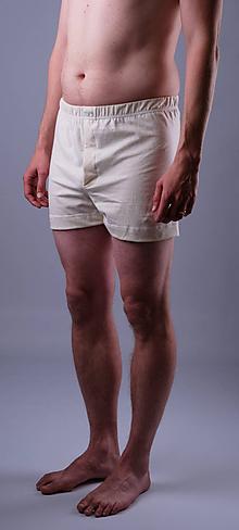 Oblečenie - Bleďásky pánske trenky biobavlna - 12076183_