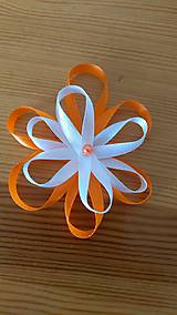 Pierka - Svadobné pierko kvet - 12077528_