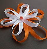 Pierka - Svadobné pierko kvet - 12077529_