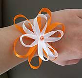 Pierka - Svadobné pierko kvet - 12077530_