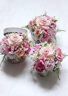 Dekorácie - Kvetinový box/poďakovanie pre pani učiteľku/ - 12075636_
