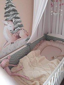 Textil - Detská deka smotanová - 12077571_