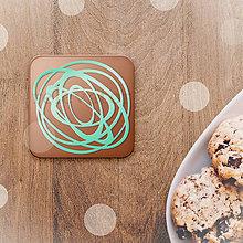 Dekorácie - Bonbon - potlač na koláč (len grafický návrh) chaotická poleva - 12077058_