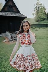 Šaty - béžové madeirové šaty Sága krásy - 12079654_