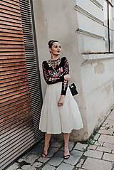 Šaty - plisované šaty Sága krásy - 12079697_