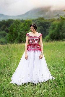 Šaty - svadobné šaty Sága krásy - 12079338_