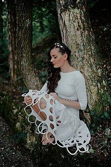 Šaty - Biele madeirové šaty Sága krásy - 12079418_