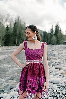 Šaty - krátke madeirové šaty Sága krásy - 12079599_