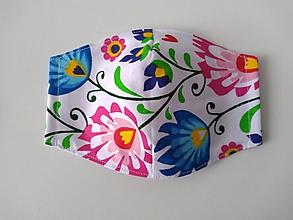 Rúška - Rúška tvarované (veľ. S) (folk pásy) - 12078954_
