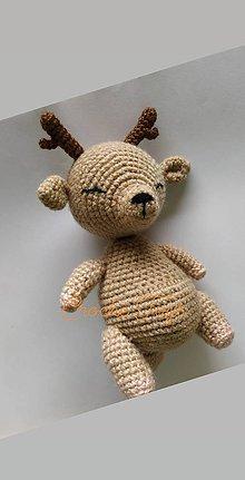 Hračky - Spiaci jelenček - 12080275_