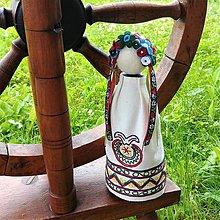 Dekorácie - Slovenská ľudová bábika 9 - 12080947_