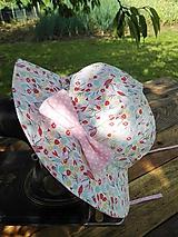Detské čiapky - Letný klobúčik - 12078221_