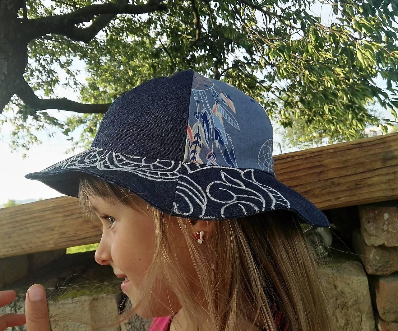 Letný klobúčik - SKLADOM