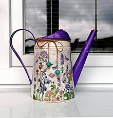 Nádoby - krhlička lúčne kvety - 12078421_