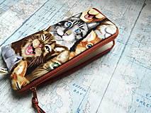 """Na mobil - Selfie Cats ..."""" púzdro na mobil """" L"""" - 12082788_"""