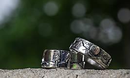 Prstene - Naše obrúčky - náš príbeh /v striebre/ - 12081514_