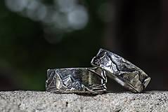 Prstene - Naše obrúčky - náš príbeh /v striebre/ - 12081515_