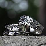 Prstene - Naše obrúčky - náš príbeh /v striebre/ - 12081516_