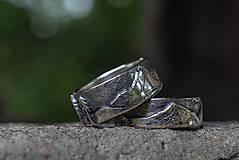 Prstene - Naše obrúčky - náš príbeh /v striebre/ - 12081517_