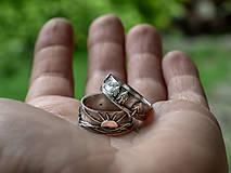 Prstene - Naše obrúčky - náš príbeh /v striebre/ - 12081519_